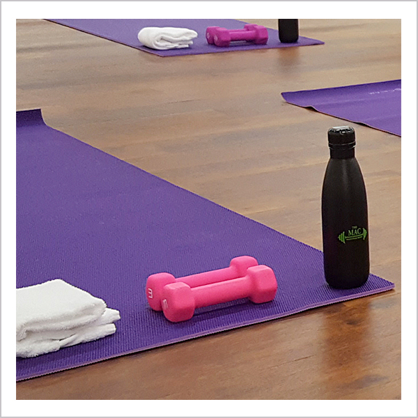 Hot Yoga Class at The MAC