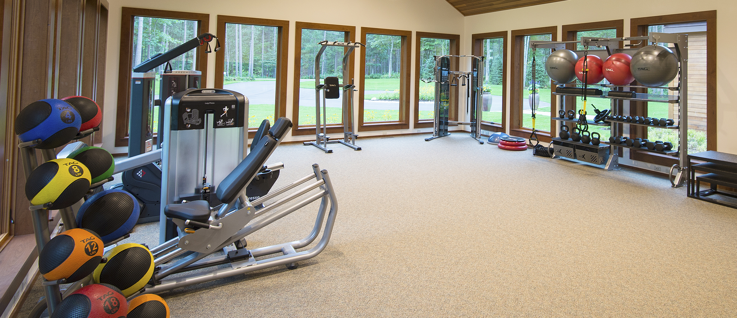 MAC Workout Room